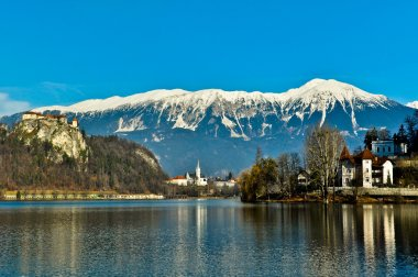 Beautiful views of lake Bled