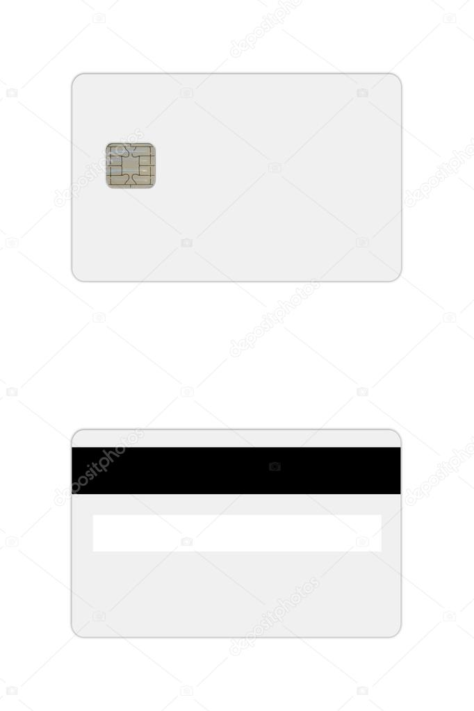 Credit Debit Card Template Stock Photo C Kunertus 64365613