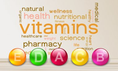 Vitamin elements for a healthy life