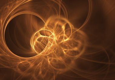 Softly glowing circles