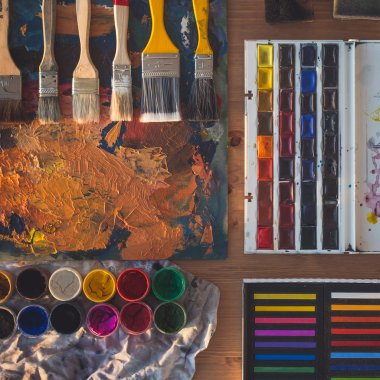 Painting tools view