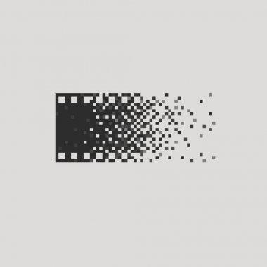 Photo logotype concept analogue