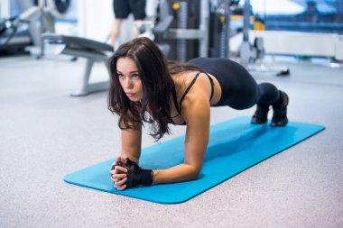 Training fitness woman