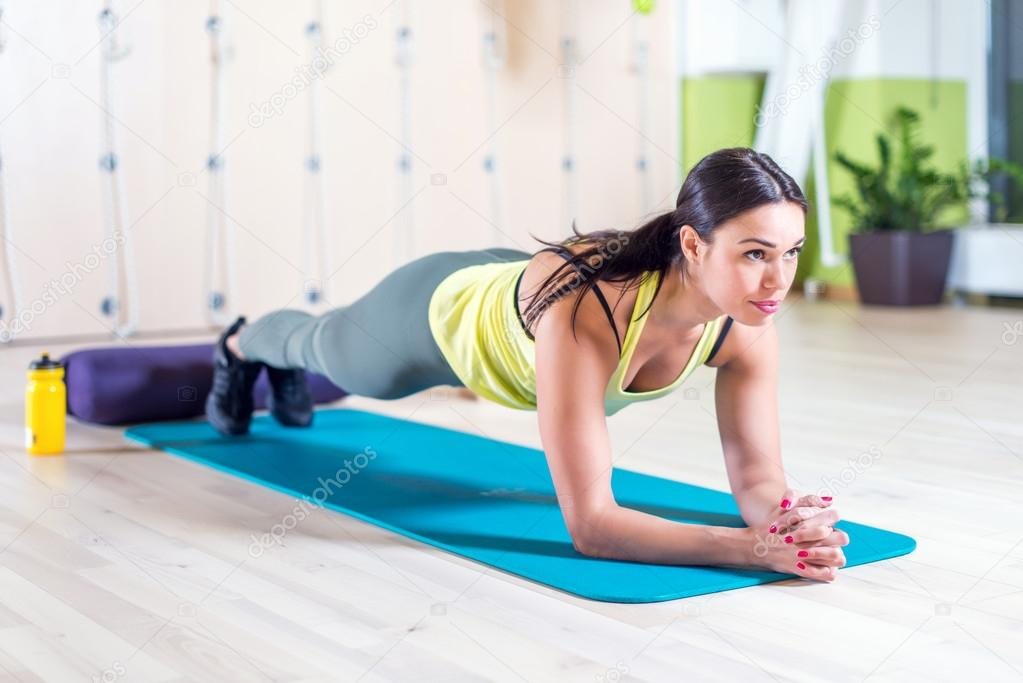 fitness training athletic sporty woman