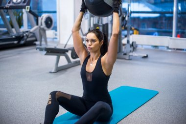 Work out fitness woman