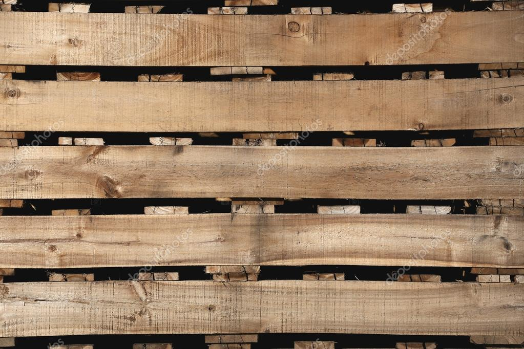 Old Wood Texture Of Pallets For Background Stock Photo