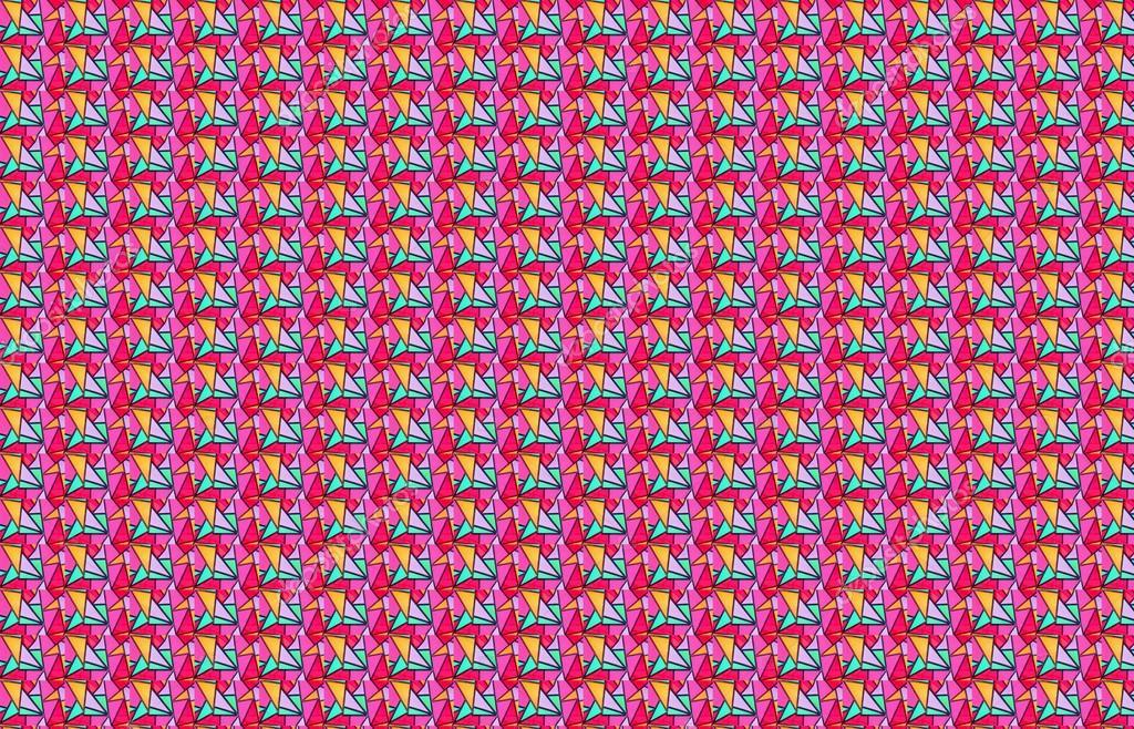 W Tle Kolorowe Szkło Dekoracyjne Zdjęcie Stockowe