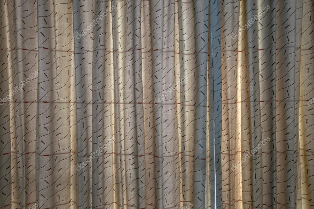 Patterned Curtains Stock Photo C Meepoohyaphoto 74098249