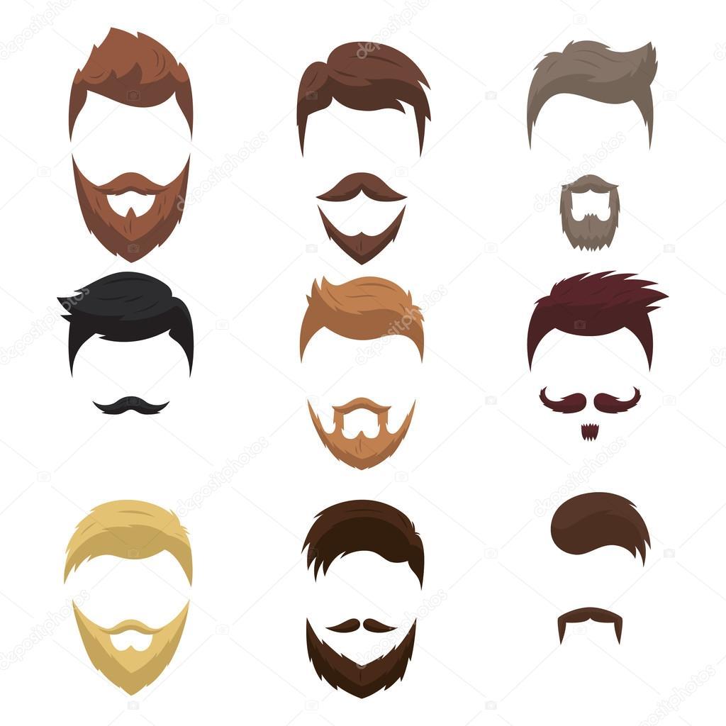 Jeux de coiffure et barbe