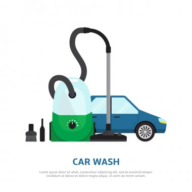 Car wash web background