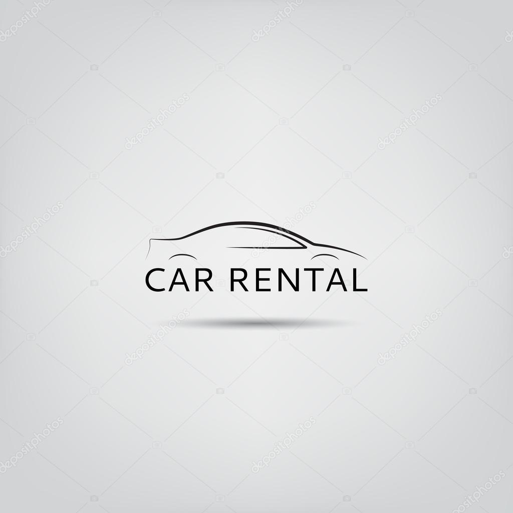 Vector Template Of Car Rental Logo Stock Vector C Avgust01 65575193