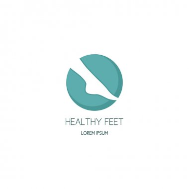 Logo of center of healthy feet