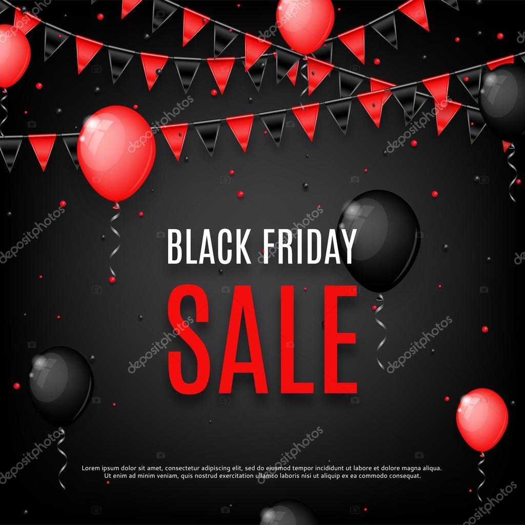 Design of poster of Black Friday sale