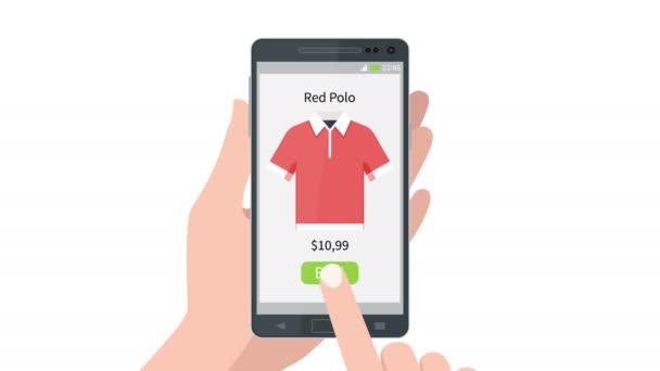 Biztonságos fizetés a mozgatható smartphone berendezés ujj ellop