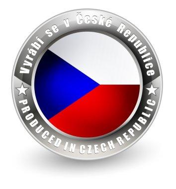 Produced in Czech Republic label.