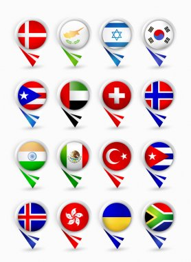 Most popular flags map pointers.Part 2