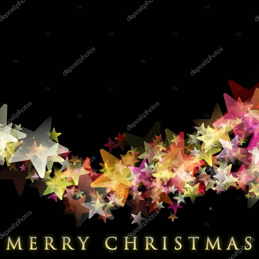 素晴らしいクリスマス背景デザイン イラスト星 — ストック写真