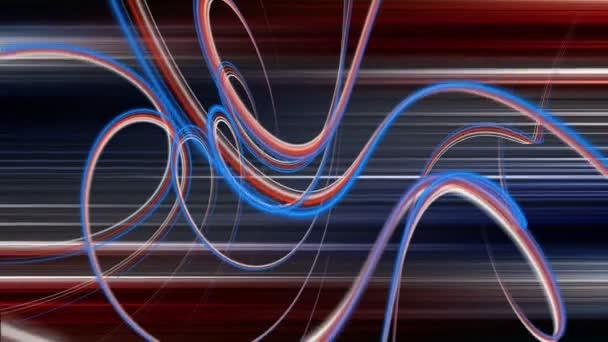 fantastické video animace s pozadím v pohybu a stripe objektu smyčka hd 1080p