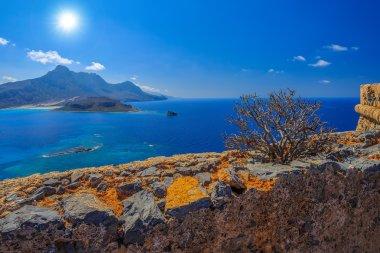 Gramvousa island. Crete, Greece.
