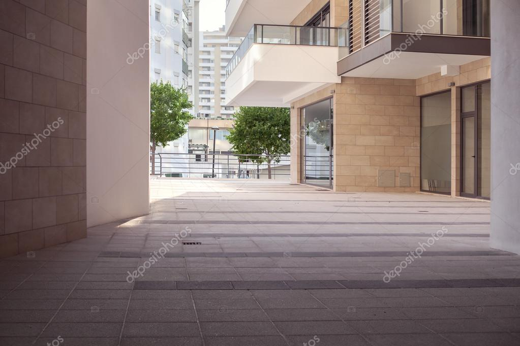 Exterior Of A Small Modern Office Building Stock Photo C Artemkas 55769509