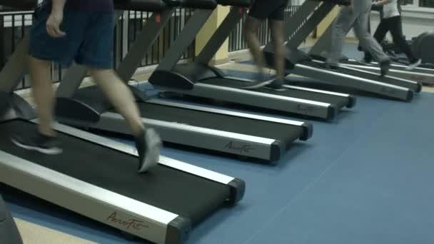 Laufband im Fitness-Studio