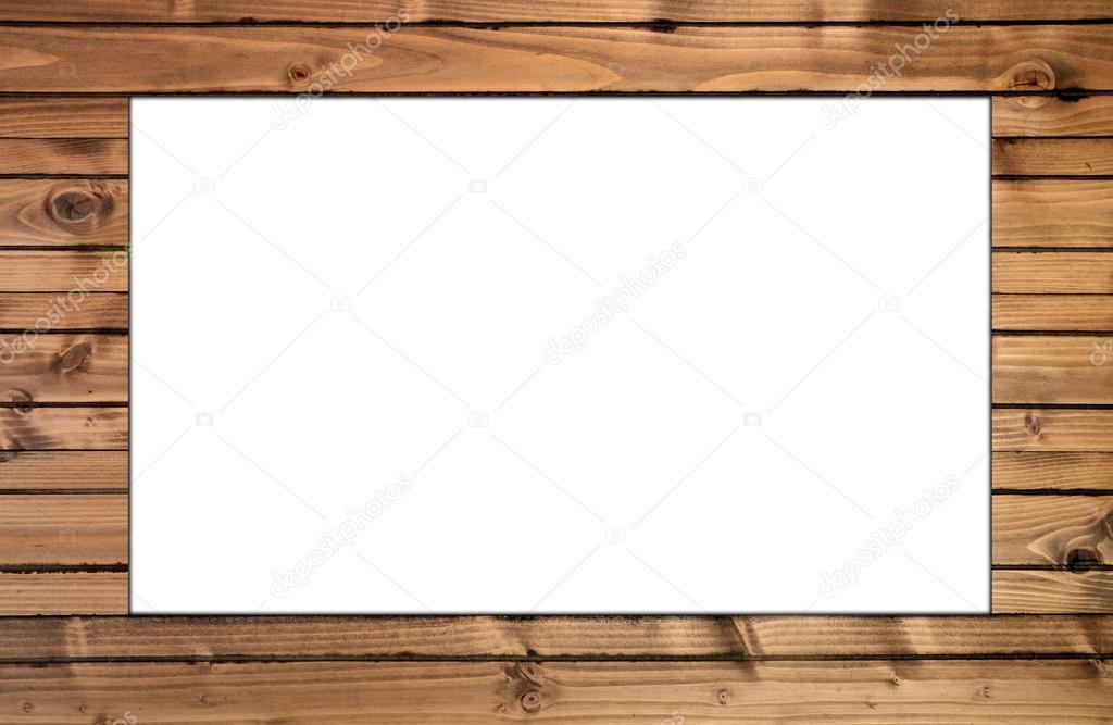 einfache Holzrahmen — Stockfoto © Alex_F #70667003