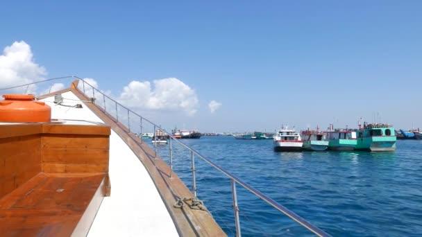 Pohled z lodní člun
