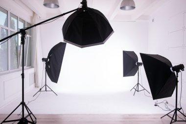Studio.Behind the scenes.