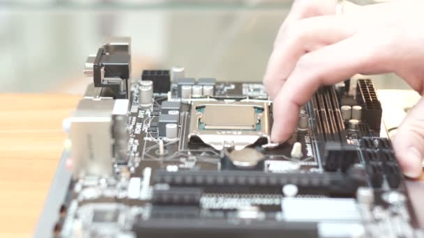 Removing the CPU from the motherboard
