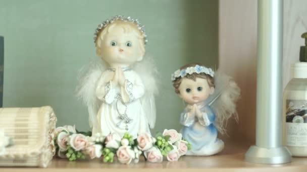 Modlila se vánoční andělé