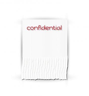 confidential paper