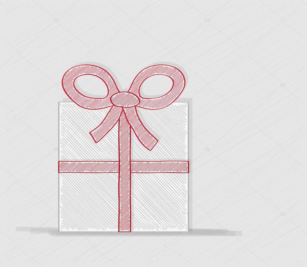 eingebundenen Geschenk oder Geschenk-Karte — Stockvektor © muuraa ...