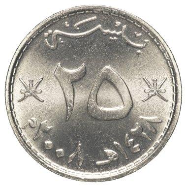 25 Omani Baisa coin