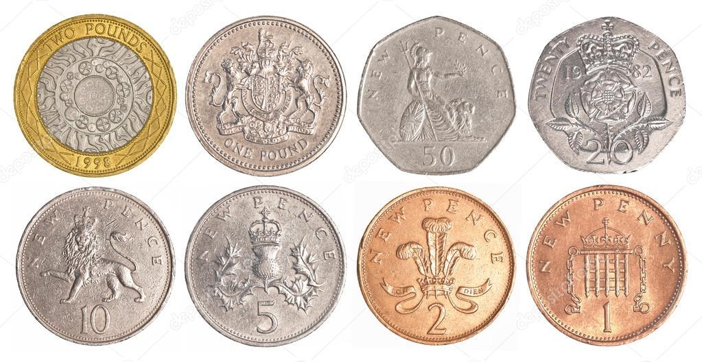 England Die Münzen In Umlauf Stockfoto Asafeliason 60047817