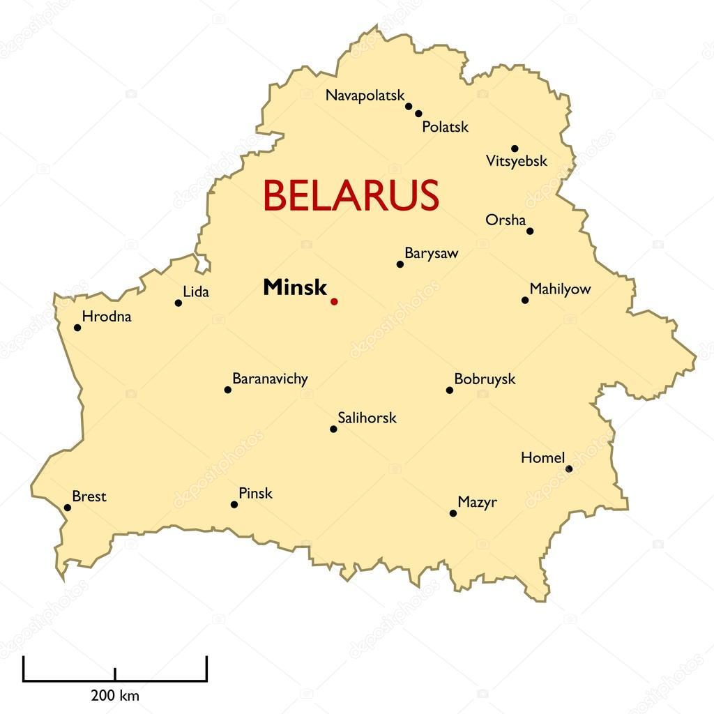 карта беларуси с изображением символа области фото пропустить