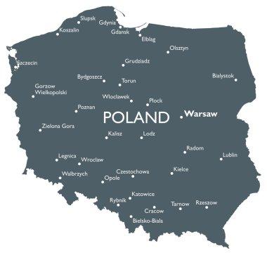 Vector Poland map