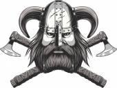 Viking hlavy maskot