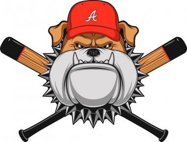 Ferocious Bulldog head