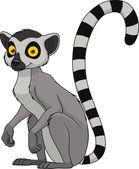 Fotografie Adult funny lemur