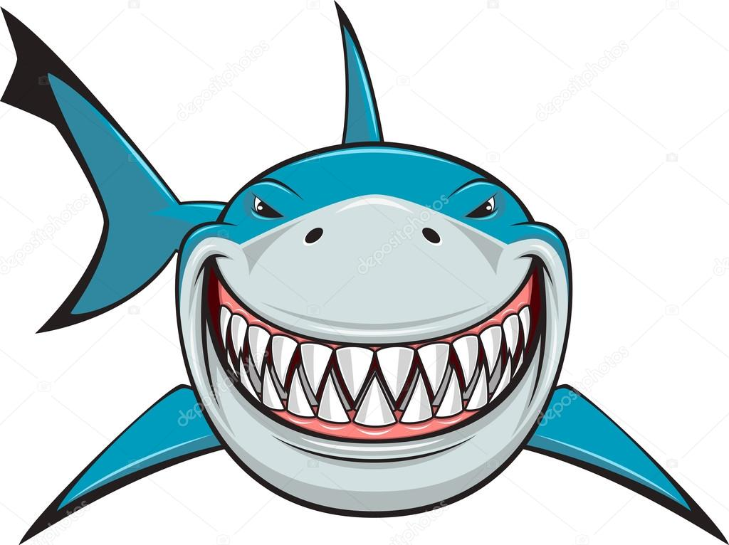White Shark Vector Image By C Andrey Makurin Vector Stock 58087965
