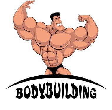 Caricature bodybuilder