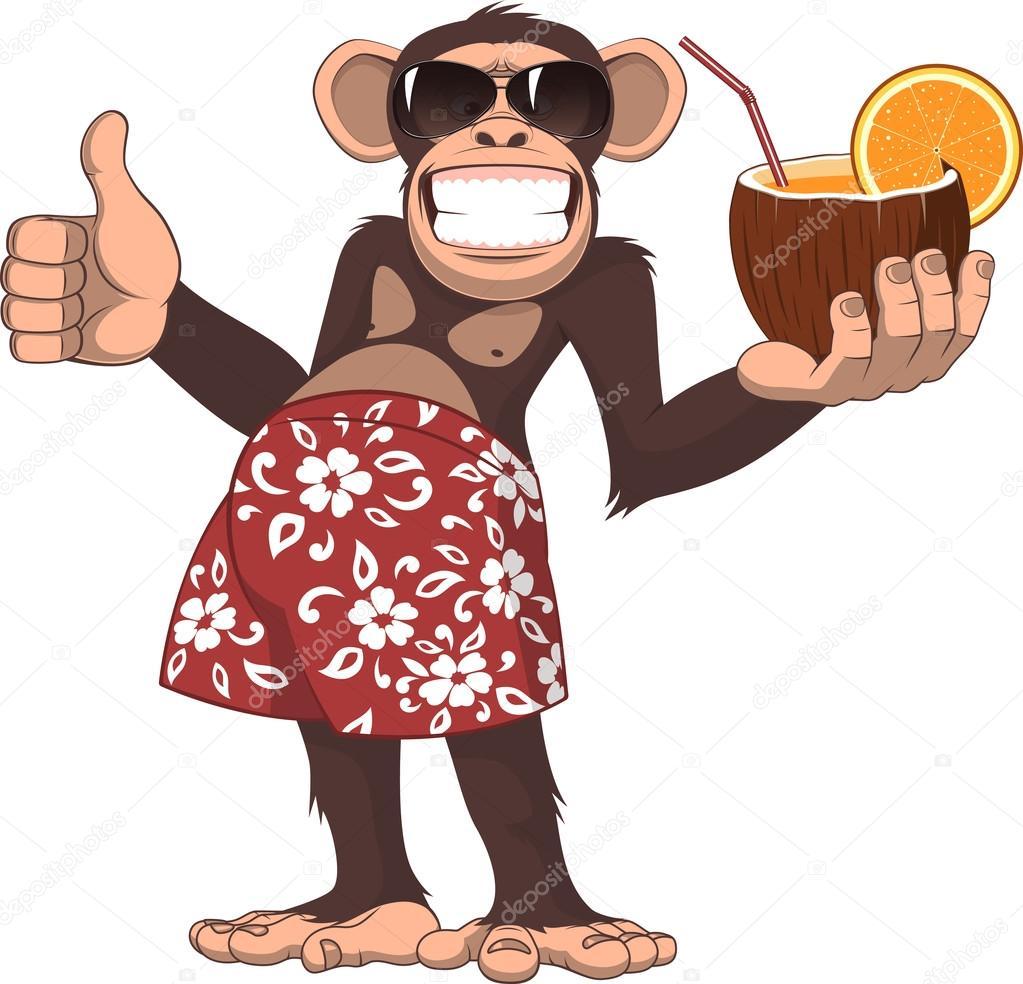 Monkey Stock Vectors Royalty Free Monkey Illustrations Depositphotos