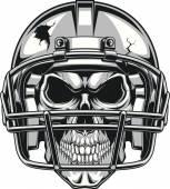 Fotografia cranio nel casco
