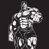 Lallenatore di bodybuilding e fitness