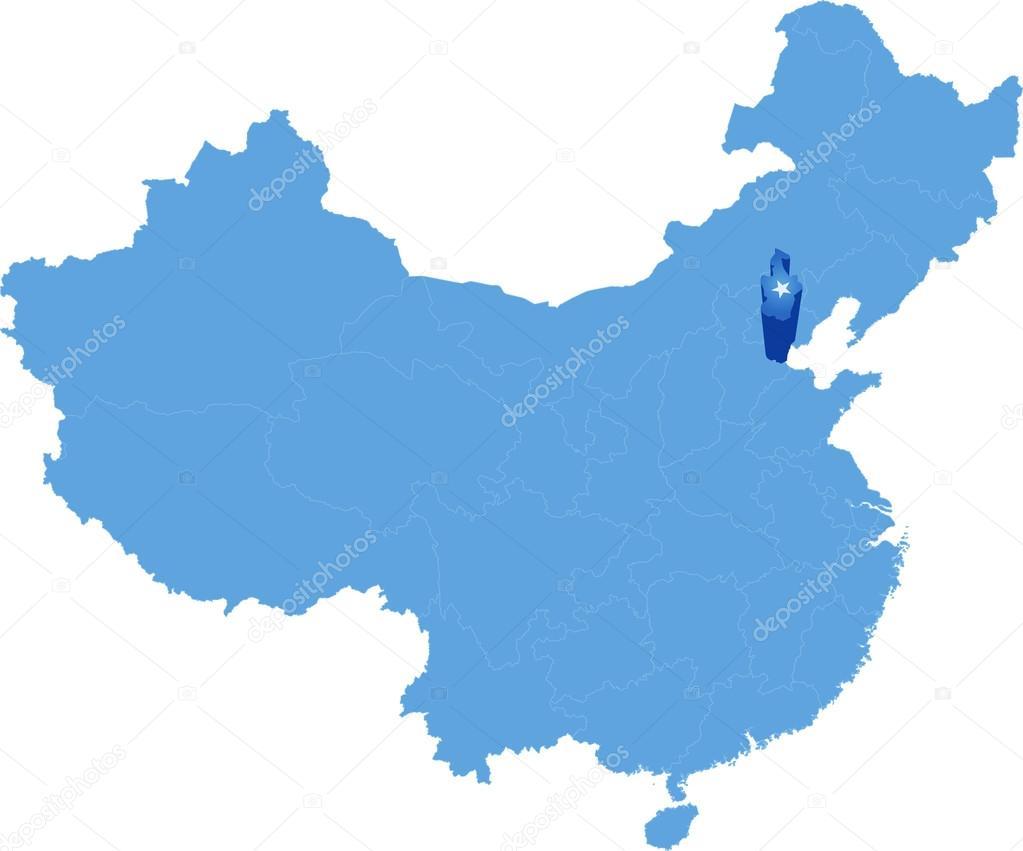 Mapa de la repblica popular de china tianjin municipio vector mapa de la repblica popular de china tianjin municipio vector de stock gumiabroncs Choice Image