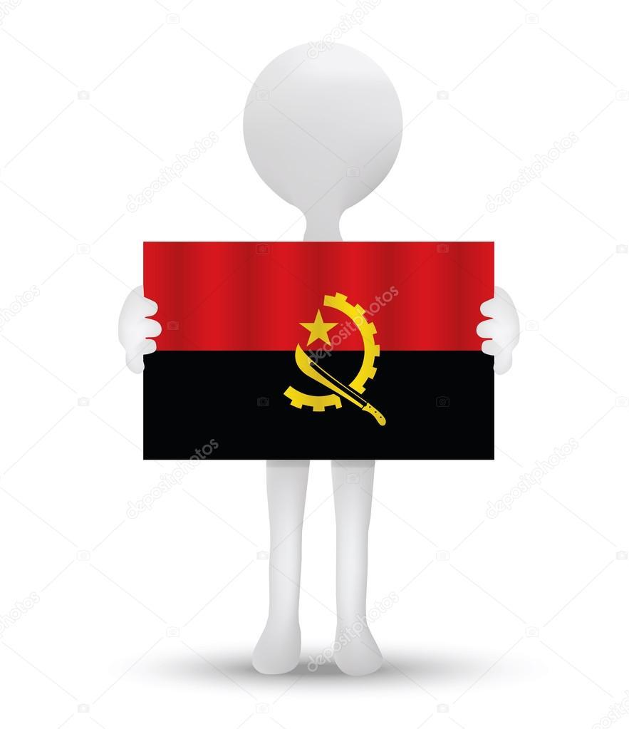 Flag of Republic of Angola