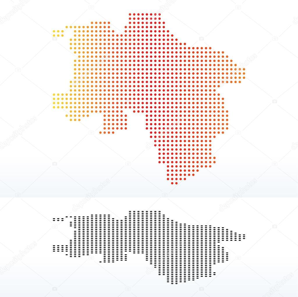 Lower Saxony Germany Map.Lower Saxony Germany Stock Vector C Istanbul2009 84602430
