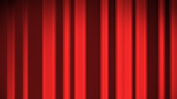 Falling Curtain On A Green Background