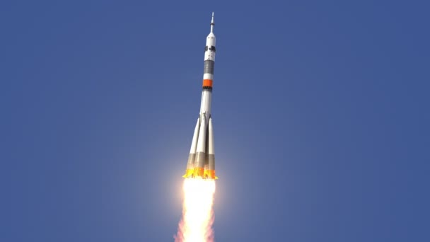 Carrier Rocket Takes Off