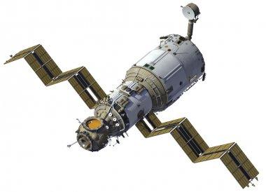 Space Station Deploys Solar Panels